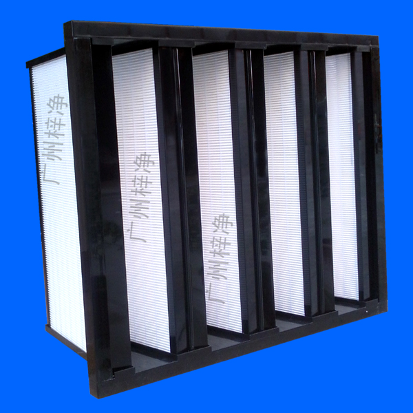 组合式亚高效过滤器框架一般采用三种形式即镀锌框HS,聚丙乙烯塑框,不锈钢框