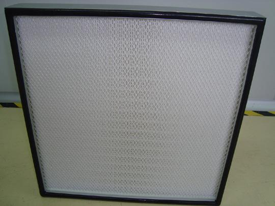 铝框高效无隔板过滤器