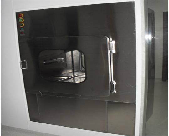 梓净供应全不锈钢层流传递窗给中国疾病预防控制中心