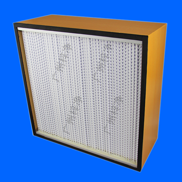 木框有隔板高效过滤器出厂前逐台激光扫描计数