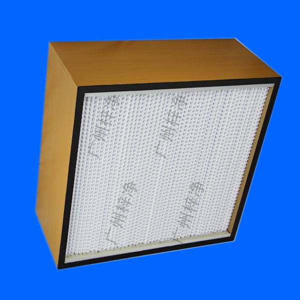 HS木框有隔板高效过滤器