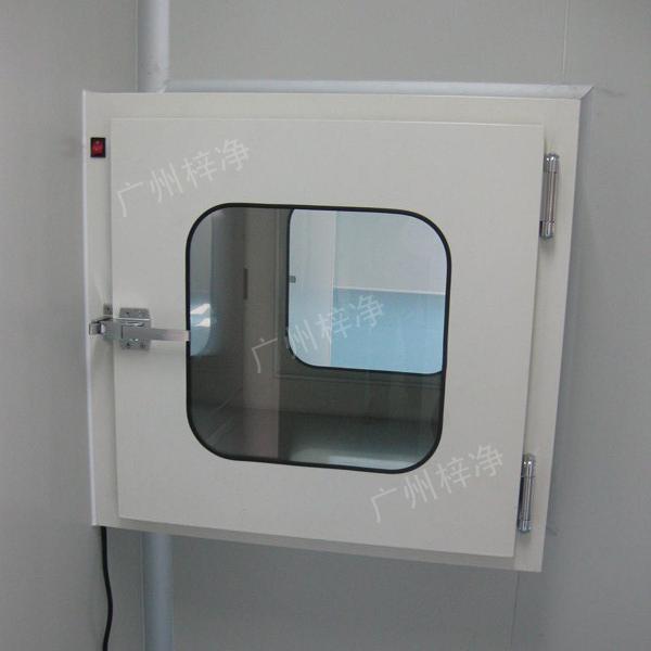 传递窗可分为电子互锁机构传递窗和机械互锁机构传递窗两种