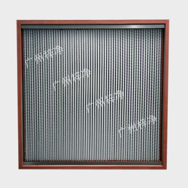 250度耐高温高效空气过滤器用于瞬间最高温度可达300度,恒温可达260度左右,性能稳定可靠