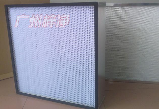 风淋室玻璃纤维高效过滤器