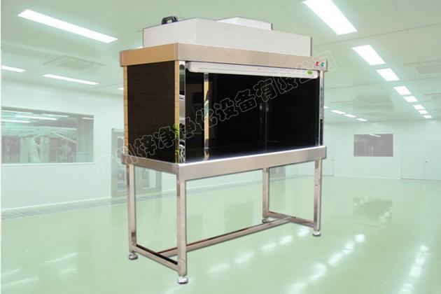 垂直流超净工作台采用美国AAF超薄型无隔板过滤器或我司自产的无隔板高效过滤器,将静压箱尺寸缩到最小,再配以全不锈钢构架与黑色有机玻璃,使整个工作台显得更加高档。