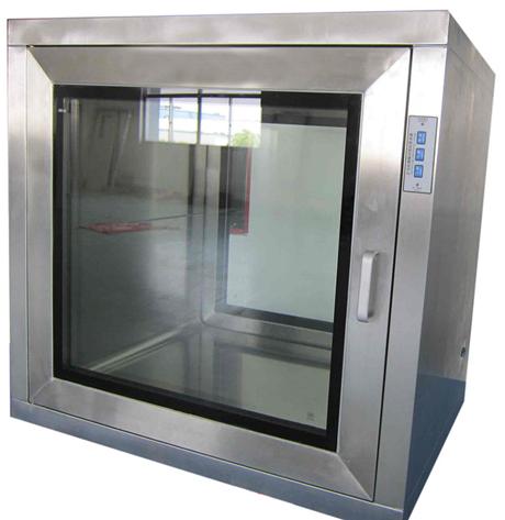 药厂平板门传递窗主要应用于制药厂洁净区与非洁净区物体的传递