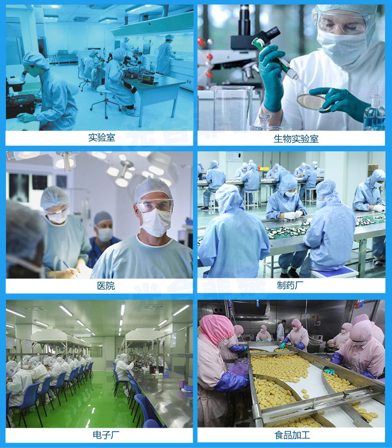 传递窗广泛应用于微细科技、生物实验室、制药厂、医院、食品加工业、LCD、电子厂等等一切需要空气净化的场所。