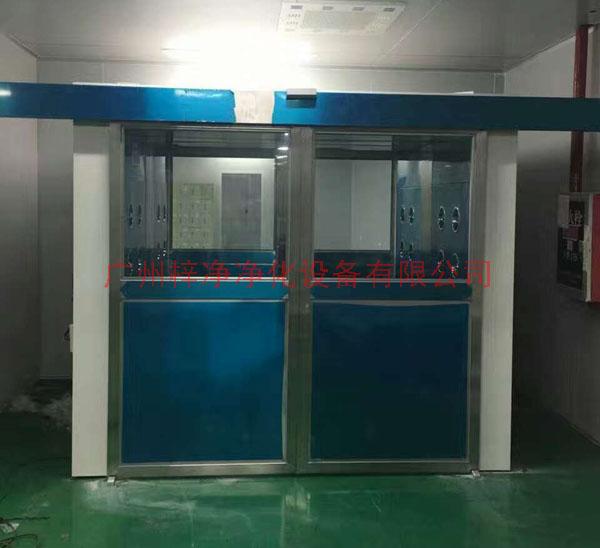 全自动平移门风淋室采用先进的PLC控制技术