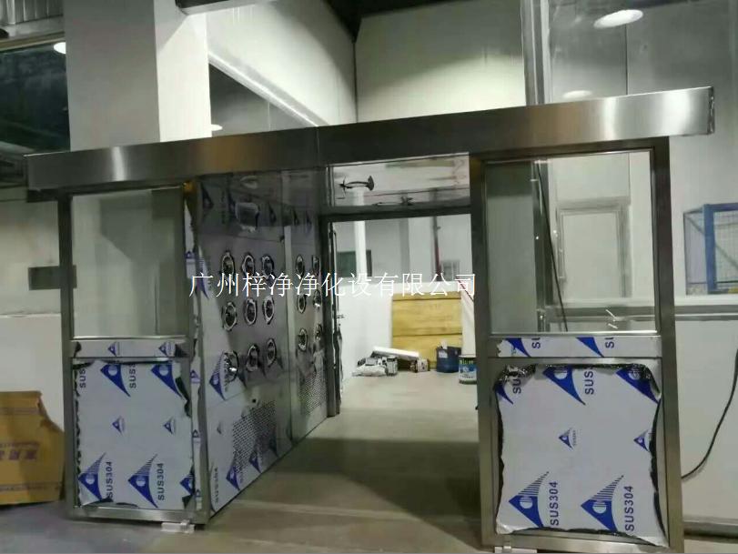 自动门风淋室及自动门货淋室