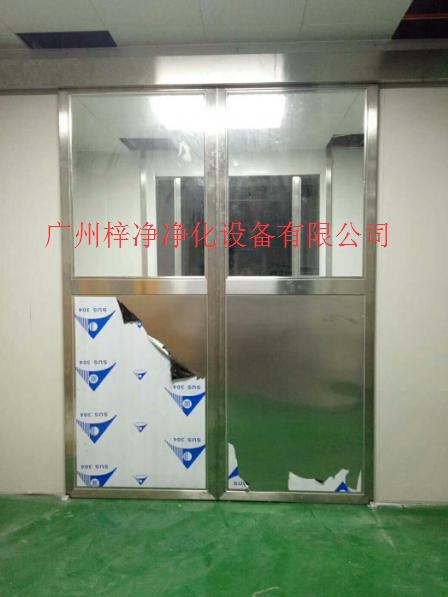 自动门货淋室结构