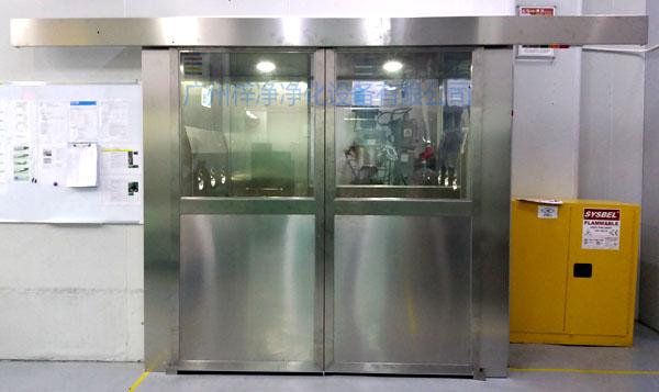 自动门风淋室采用优质自动机构
