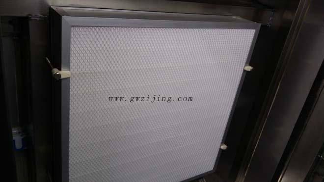 风淋室高效过滤器安装固定方式