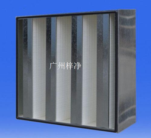 镀锌框FV型组合式亚高效过滤器