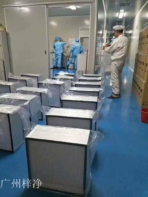 高效过滤器生产检测