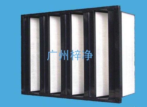 组合式中效过滤器又称组合式中效空气过滤器、FV组合式中效过滤器、中效组合式过滤器。