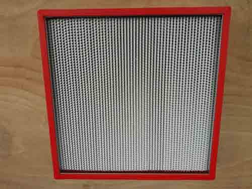 耐高温高效过滤器正面图