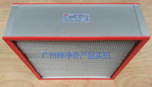耐高温空气过滤器检测合格