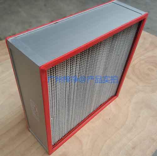 耐高温高效过滤器结构特点