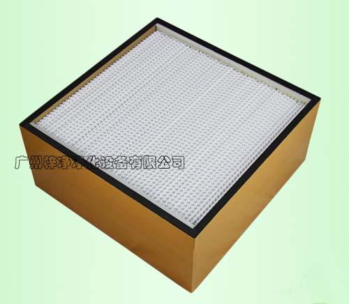 木框高效送风口过滤器主要应用于常规高效送风口,优点:价格便宜。
