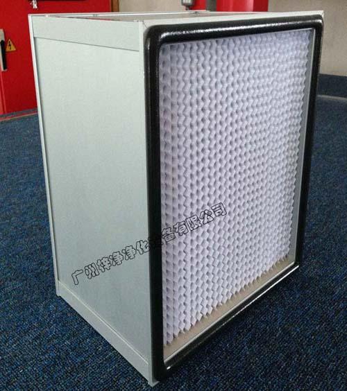 铝框有隔板高效送风口过滤器,主要应用于常规高效送风口。
