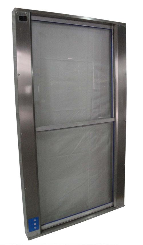 手动升降式传递窗又称为上下升降手动传递窗或者传递柜