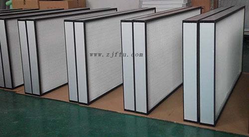 FFU高效过滤器又称为FFU过滤器、FFU高效、FFU高效滤芯、FFU高效滤网等