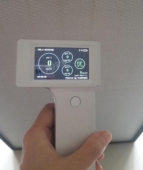 家用FFU净化器出风口检测