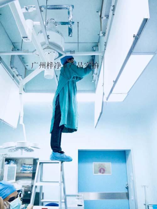 医院手术室送风天花安装检测