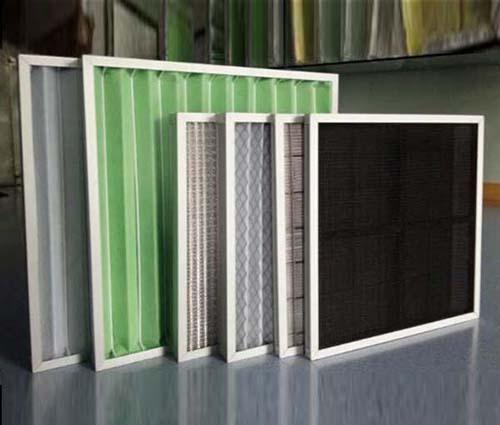 板式初效过滤器又称为粗效过滤器主要包括G1级,G2级,G3级,G4级初效空气过滤器等等。