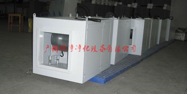 新风柜材质采用优质冷轧钢板喷塑或彩钢板制做。