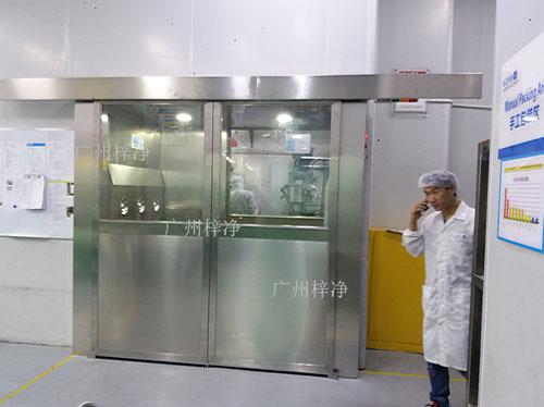 自动平移门风淋室可与所有的洁净室和洁净厂房配套使用