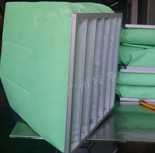 G4级袋式过滤器产品结构
