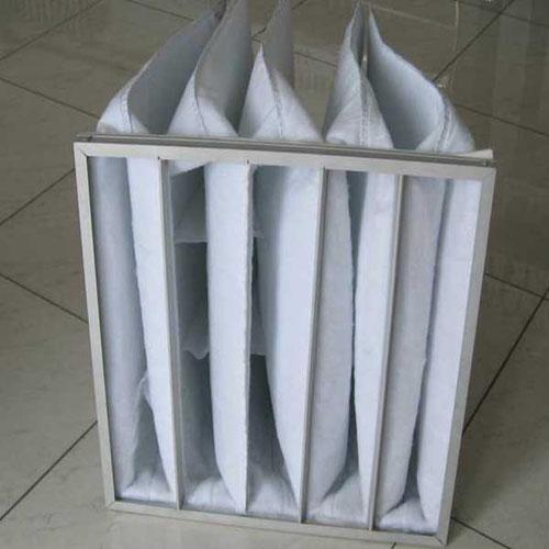 G3级袋式初效过滤器过滤棉为白色
