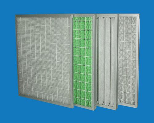 平板式初效过滤器是一款框采用坚固的板式铝合金框架,出风面加菱形护网的工业设备。