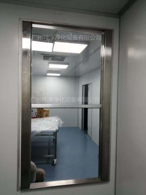 单门升降电动传递窗安装效果