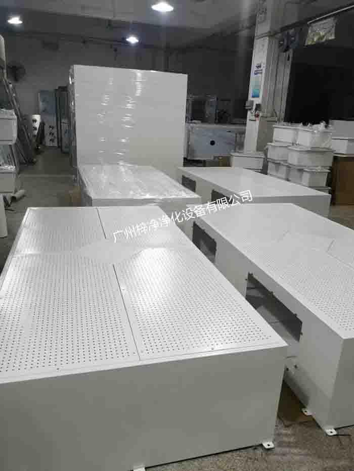 手术室层流送风天花采用冷轧钢板烤漆制作