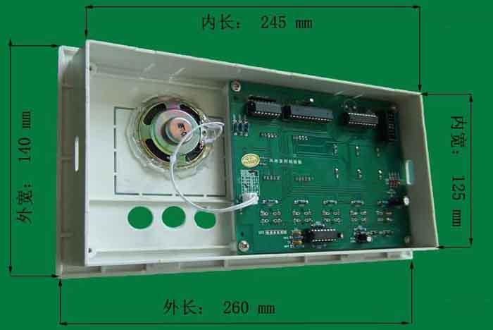 风淋室控制器开孔尺寸